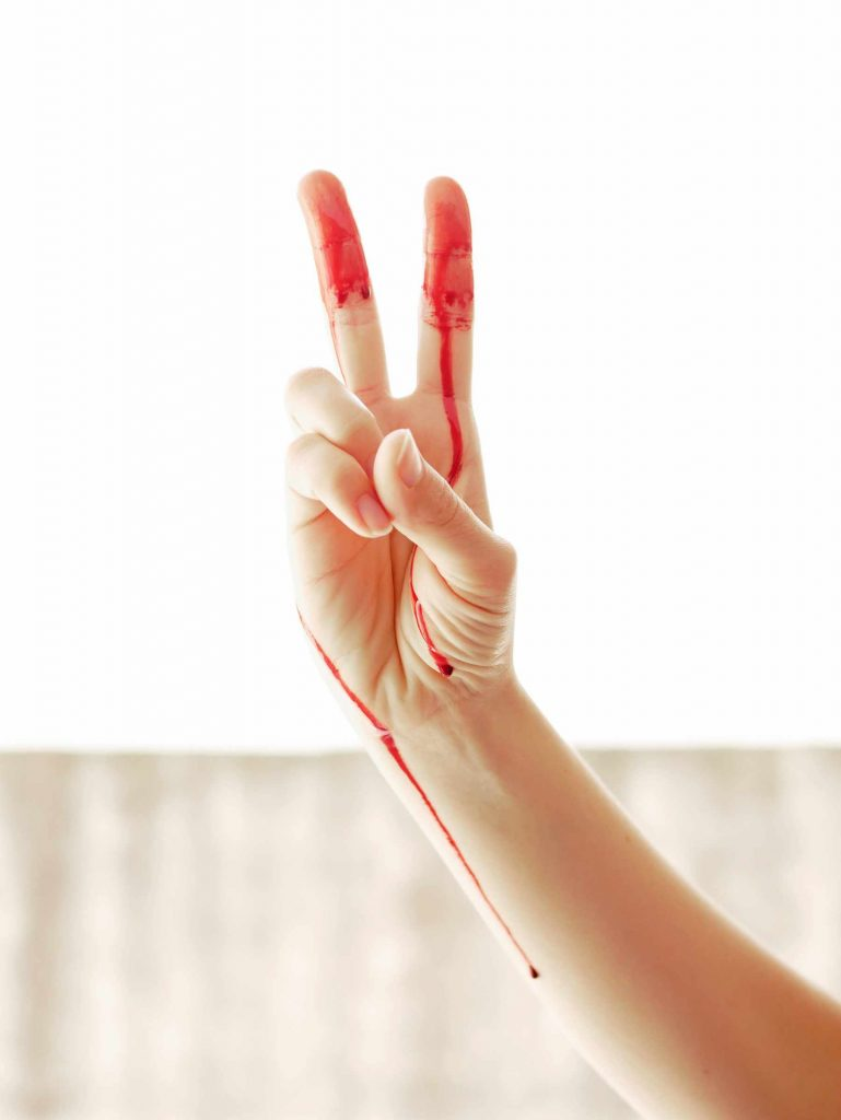 How do you feel about period blood?