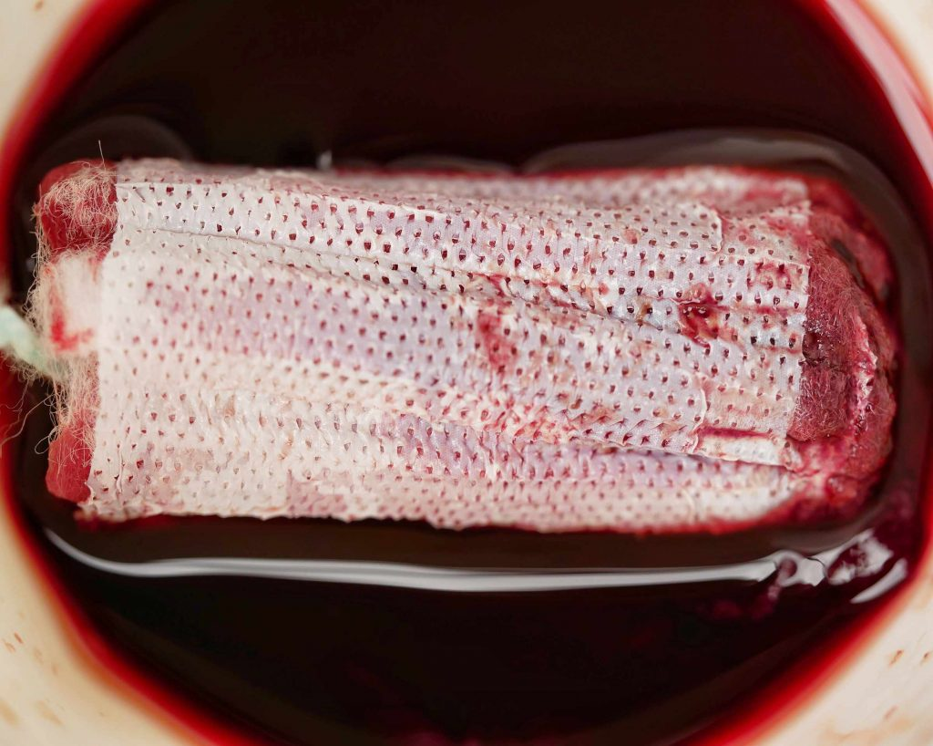 Tampon soaking up all the menstrual blood