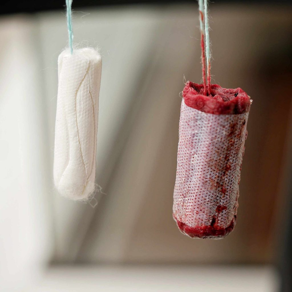 New vs. used tampon