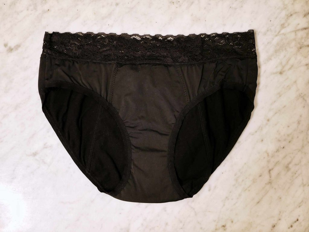 What does your period panty look like?